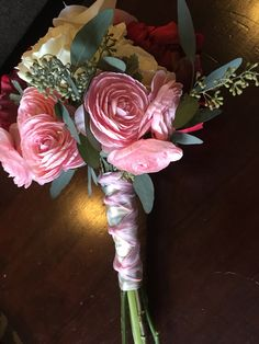 Hybrid bouquet by Graceful Wedding Co