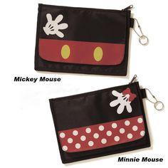 Disney Mickey & Minnie Slim Wallets