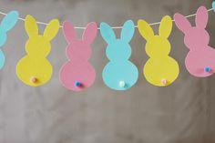 Hacer una guirnalda decorativa de Pascua