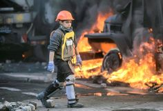 Майдан онлайн: самые впечатляющие фото за три месяца революции в Киеве