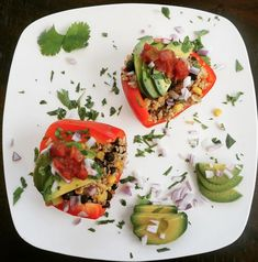 Quinoa Stuffed Peppers – Totally Fit Mama