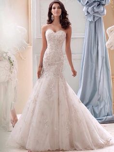 Wedding dresses and bridal gowns for every body type, David Tutera by Mon Cheri. David Tutera by Mon Cheri offers brides high quality at a affordable price. Mon Cheri Wedding Dresses, Lace Wedding Dress With Sleeves, 2015 Wedding Dresses, Perfect Wedding Dress, Bridal Dresses, Wedding Gowns, Bridesmaid Dresses, Mod Wedding, Chic Wedding