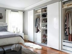 IKEA offers everything from living room furniture to mattresses and bedroom furniture so that you can design your life at home. Check out our furniture and home furnishings! Ikea Bedroom, Closet Bedroom, Bedroom Storage, Home Bedroom, Bedroom Decor, Bed Ikea, Ikea Closet, Bedrooms, Ikea Wardrobe