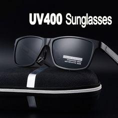 fbd53738df2 Men s Polarized UV400 Vintage Novelty Sunglasses New Fashion Men s   Women s  Fashion Sunglasses Glasses Retro Eyewear