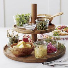 "Olivewood 4.72""x3.5"" Nibble Bowl Kitchen Items, Kitchen Utensils, Kitchen Gadgets, Kitchen Dining, Kitchen Decor, Tiered Server, Snack Bowls, Kitchen Essentials, Food Presentation"