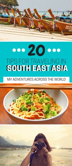 20 Tips for Traveling in South East Asia - From money to food, transportation and accommodation, here are twenty useful tips for Southeast Asia | Backpacking in Southeast Asia | Vietnam | Thailand | Cambodia | Laos | Southeast Asia itinerary | Southeast Asia packing list - via @clautavani