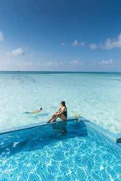 Enjoy your own private pool and direct access to the ocean! Club Med Finolhu Villas, Maldives