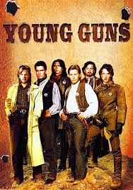 Young Guns Photo Mug Hot Cocoa Gift Basket 80s Movies, Good Movies, Movie Tv, Watch Movies, 1980s Films, Movies Free, Action Movies, Emilio Estevez, Kiefer Sutherland