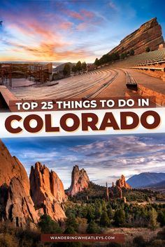 Planning a Colorado vacation? Click here to discover the 25 Top Things To Do in Colorado including awesome attractions in Colorado, dreamy places to visit, top Colorado hikes, and more! I what to do in Colorado I places to go in Colorado I USA travel I places to hike in Colorado I places to visit in Colorado I Colorado attractions I Colorado parks I attractions in Colorado I activities in Colorado I places to stay in Colorado I where to eat in Colorado I parks in Coloraod I #USA #Colorado Usa Travel Guide, Travel Usa, Canada Travel, Travel Guides, Travel Tips, Beautiful Places To Visit, Cool Places To Visit, Places To Go, Visit Usa