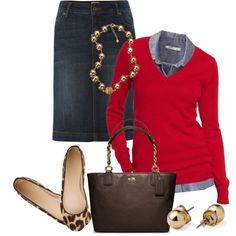 A fashion look from December 2012 featuring Old Navy blouses, Linea Weekend skirts and J.Crew flats. Browse and shop related looks.