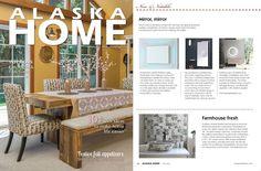Google+ Alaska Home con artistic tile