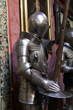 collection of armours in Florence Italy