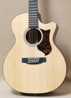 Martin GPC12PA4 12-String Acoustic Electric Guitar Natural | Reverb