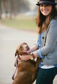 Stylized Family Photos 2012 Copyright: Laura Fulmer Photography A girl and her dog. Little Luna Reese.
