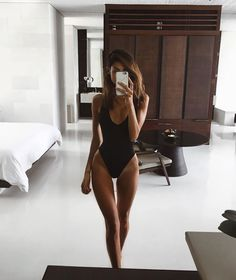 Black one piece <3 that body! #FITNESSMOTIVATIONPICTURES