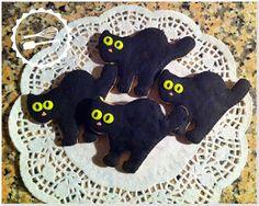 Baunilha Cor-de-Rosa: #cookies #blackcat #halloween
