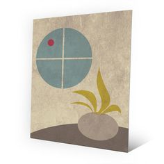 Click Wall Art Summer Pottery Graphic Art on Plaque Size: