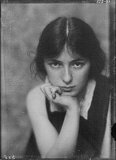 Arnold Genthe, Retrato de Evelyn Nesbit-descongelación de 1913
