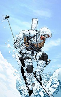 GI Joe - Snowjob by SeanE on @deviantART