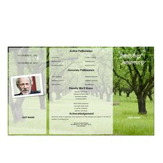 Create an everlasting keepsake of your loved one  Edit the template easy  Print-Ready (Borderless, 8.5 x 14 Paper)  For Microsoft Word(FREE TRIAL)  Expert Support available by E-mail & Phone  Download now and start sharing memories in minutes