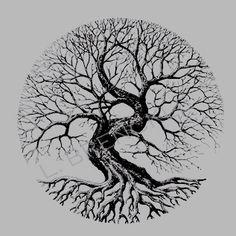 70 Super Ideas for tree tattoo circle design - 70 Super Ideas for tree tattoo circle design 70 Super Ideas for tree tattoo circle design Celtic Tattoos, Viking Tattoos, Nature Tattoos, Body Art Tattoos, Compass Tattoo, Yggdrasil Tattoo, Tree Tattoo Designs, Tree Tattoo Men, Tattoo Ideas
