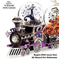 Disney Nightmare Before Christmas Snowglobe Collection