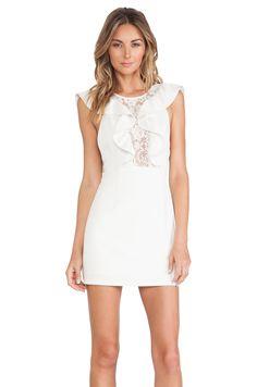 NBD Lust Dress in Ivory