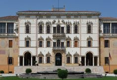 Venetian residential Architecture- Palladio. The arrangement of the façade is a typical parti developed in Venice