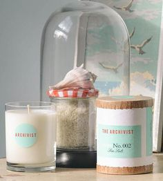 Natural Soy Candle -- Sea Salt | Home Decor | Greenmarket Purveying Co. | Scoutmob Shoppe | Product Detail