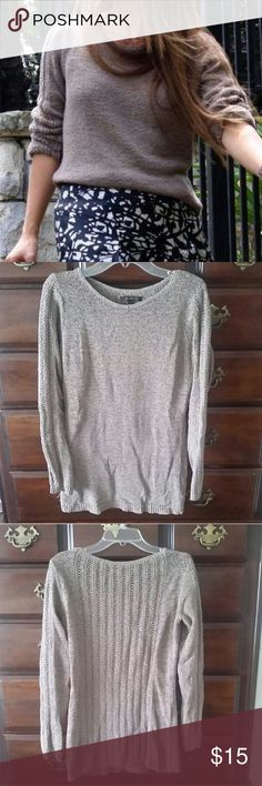 Rachel Zoe Open Stitch Karla Sweater Excellent condition I just don't really wear it.  26 inches in length Fits true to size Rachel Zoe Sweaters Crew & Scoop Necks
