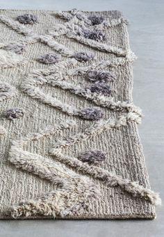 Tapete feito à mão de lã BUR-BUR by Massimo