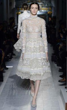 Brautkleid weiß, silber, Valentino