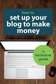 This is exactly how to set up your blog ot make money. It's a technical guide…