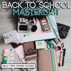 Back to school/college master list of anything and everything to help you get a better education.