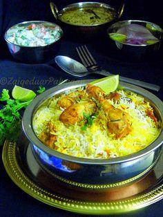 Hyderabadi Chicken Dum Biryani  #biryani #chicken #indianrecipes #authentic #spices #rice