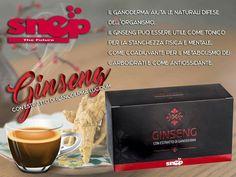 Ginseng con estratto do ganoderma