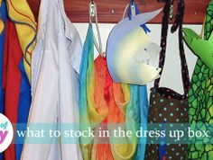 What to stock in the dress up box #parenting