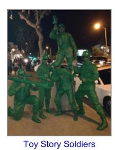 Toy story soldier Halloween costume