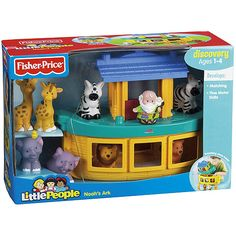 Fisher-Price Little People Noah's Ark Play Set... just need Noah now!