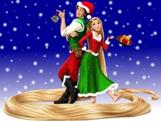 How cute! I showed my family Tangled on Christmas so this is only fitting!