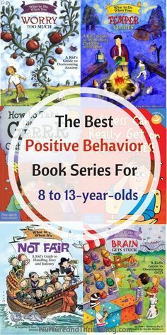 6 Awesome Book Series for 8 to Change your child's behavior with books! The best Positive Behavior Book Series for 4 to Great resources for parents from Ashley Soderlund Ph. via /nthrive/ Positive Behavior, Positive Discipline, Kids Behavior, Behavior Plans, Behavior Charts, 7 Year Olds, Kids Reading, Reading Lists, Close Reading