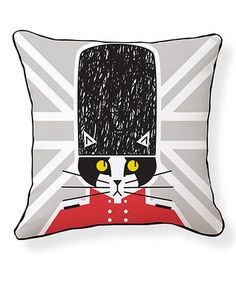 'Keep Calm and Kitty On' Pillow