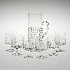 Grappo glasses designed by Nanny Still