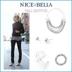 Top Fall Outfits!  Love these glass pearls!!!!   www.myniceandbella.com/stephaniefry