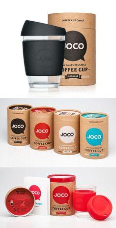 Joco coffee packaging