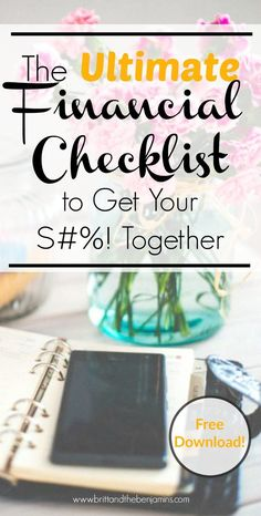Want to get your finances in order & hit your money goals but don't know where to start? You've come to the right place. Download this FREE checklist printable to help you get to the life you've been dreaming of. Bali, anyone?    Personal Finance I Budgeting I Saving I Money Advice I Checklist I Free Printable I Emergency Fund I Retirement I Investing I Millennials I Women