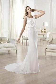 Robe de mariée Olivei, Pronovias - EN IMAGES. Dix robes de mariée de la collection Pronovias 2014 - L'EXPRESS