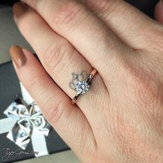 """""""I love it! Tabitha and her assistant Katie get an A++ for customer service! Both were very professional, timely, and sweet. I love the authenticity the ring has. Personally, I'm frugal and can't see myself wearing a $5000+ ring on my finger when I could use that money toward more important things. My boyfriend loves it too! I will definitely be ordering from you again! Thank you so much 😊"""" 💌"""