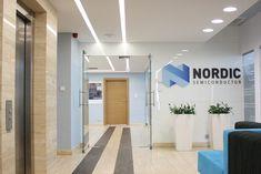 Biuro Nordic Semiconductor Bathroom Lighting, Doors, Mirror, Outdoor Decor, Showroom, Furniture, Design, Home Decor, Bathroom Light Fittings