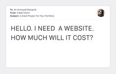 On the Creative Market Blog - 20 Terrible Client Emails That Every Designer Dreads